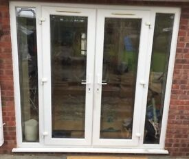 French doors and side glass great condition
