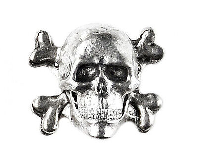 Skull Lapel Pin - Tie Tack - Gift Idea - Handmade - Gift Box