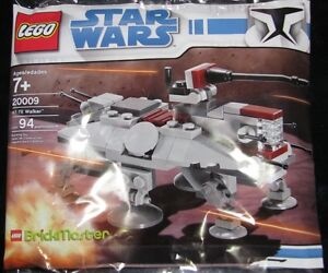 LEGO-20009-Polybag-Star-Wars-BrickMaster-AT-TE-Exclusive-Mini-Set-NEW