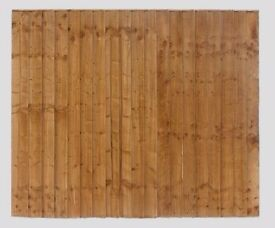 Vertical Board Tanalised Brown Pressure Treated Fence Panel All Sizes Available From £23 Huge Stocks