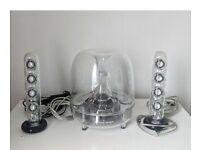 Soundsticks 2 speakers wired. Harman kardon