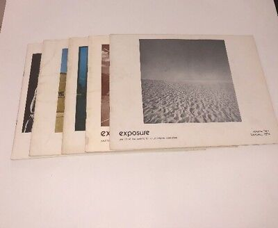 Exposure - Journal Of The Society For Photographic Education Lot Of 5 1975-1976