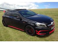 2014 '64' MERCEDES A45 EDITION 1 AUTO IN BLACK