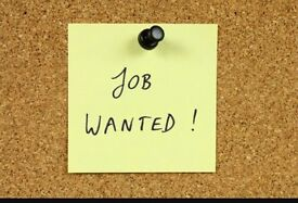 Work wanted part time or full time Gainsborough or Doncaster