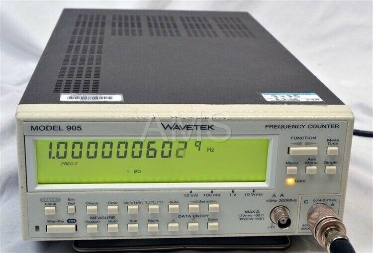 Wavetek 905 Fluke PM6685 2.7 Ghz Frequency Counter GPIB, Oven, Works, Warranty