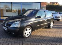 2002 RENAULT CLIO 1.2 BLACK EDITION READY TO DRIVE AWAY!!!