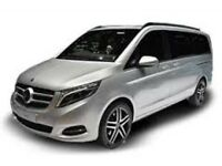 V class mercedes PCO for hire