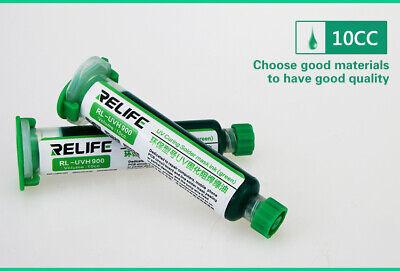 Rl-uvh900 Pcb Bga Uv Curable Soldering Mask Solder Resist Repairing Paint Green