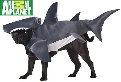 Hammerhead Shark Animal Planet Cute Fancy Dress Halloween Pet Dog Cat Costume - Hammerhead Dog Costume