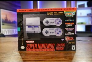 SNES Classic Genuine (Modded with Games)