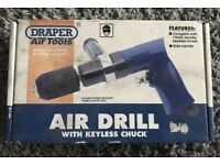 Air Drill with Keyless Chuck