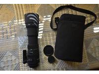 SIGMA DG 150-500mm 1:5-6.3 APO HSM with free HOYA UV filter