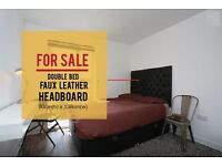 **QUICK SALE** Double bed Black Head Board 90cm Height