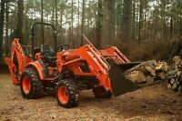 Wanted!!   30-35hp tractor with backhoe