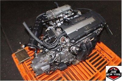 HONDA CIVIC SiR 1.6L DOHC VTEC OBD1 ENGINE M/T SWAP *FREE SHIPPING* JDM B16A #1, used for sale  Jamaica