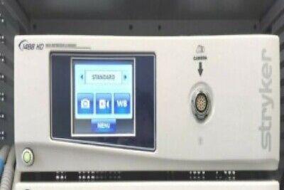 Stryker Endoscoy Tower 1488hd L9000 Sdc Ultra Hd 45l Pneumosure 26 Display