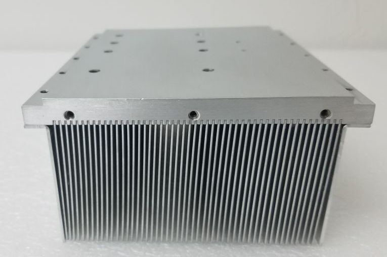 "Aluminum Heat Sink 6.5""Lx4.78""Wx2.828""H"