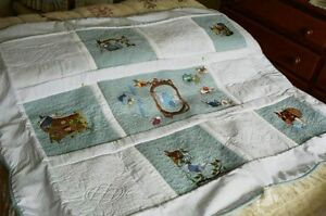 Embroidered Peter Rabbit Quilt Redcliffe Redcliffe Area Preview