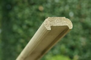 Pressure Treated Wood Hand Rail with Fillet