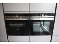 Siemens Combi Ovens and Warming drawer