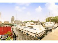 HOUSE BOAT WITH EXCELLENT RIVER VIEW BERMONDSY £410pw