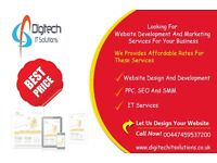 Web Development | SEO| PPC |Hosting | Bespoke| Logo | Adwords | Social Media Management | Mobile App