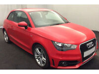 RED AUDI A1 1.6 2.0 TDI SPORT S LINE BLACK EDITION FROM £51 PER WEEK!