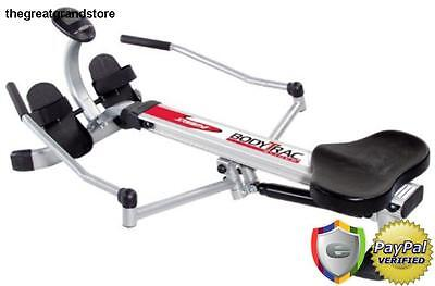 - Stamina Rowers Body Trac Glider Rowing Machine Strength Exercise Weight Home