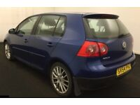 VW Golf 2.0 GT TDI 5 Door 1 Yr Warranty Full Service History 1 YR MOT Cambelt Changed HPI Clear