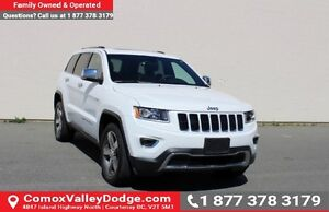 2016 Jeep Grand Cherokee Limited Bluetooth, Remote Start, Bac...