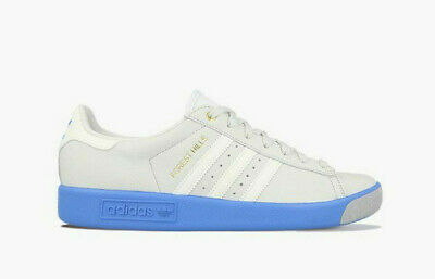 bnib ADIDAS FOREST HILLS UK 7 light grey blue  spzl EE5741