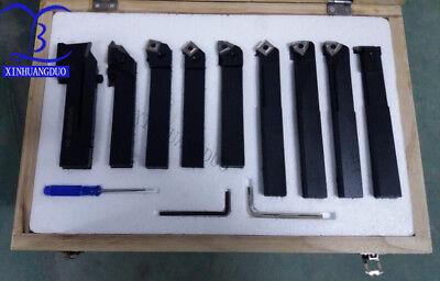 20mm 9pcsset Indexable Carbide Turnnig Toolslathe Cutting Tools Set