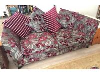***SET 2x Large sofa's 2/3 and chair GREAT CONDITION - LOCAL FREE DELIVERY***