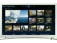"White Samsung 32"" LED smart wi-fi built HD freeview full HD 1080p"