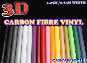 x tout couleur vinyle fibre carbone feuille adh sive autocollante mural papier ebay. Black Bedroom Furniture Sets. Home Design Ideas