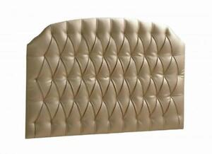 Tête de lit - Gold Diamond Tufted - Allegra Gold