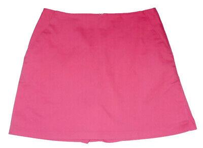 Adidas Golf Röcke (NEW Adidas Rose Pink Stretch Cotton Skort 12 Golf Tennis Skirt)
