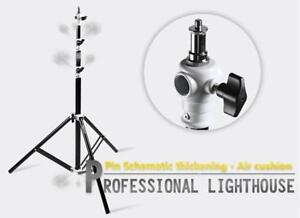 Duty Light Stand Tripod Holder 86Inch/2.2m Air Cushioned Light Stand 212041