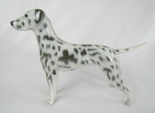 Vintage Royal Copenhagen Denmark Porcelain Dalmatian #3501 Dog Figurine