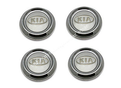 2003 2004 2005 2006 KIA Sorento OEM Wheel Caps Set of 4