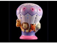 NIGHT LIGHT - ZOO BALLOON by Piggery Pottery