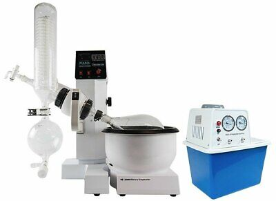 2l Electric Rotary Evaporator Kit With Bvv Water Circulation Vacuum Pump