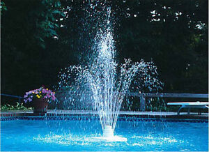 Tiered Floating Swimming Pool Water Fountain Adjustable Height Pool Accessories