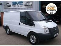 2013 62 FORD TRANSIT 330 SWB LOW / R 125BHP 6 SPEED 88K MILES CHOICE OF IN STOCK