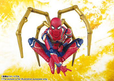 S H  Figuarts Spider Man Iron Spider Avengers Infinity War Figure New In Stock
