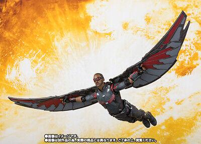S.H. Figuarts Marvel Avengers Infinity War Falcon action figure Tamashii Bandai