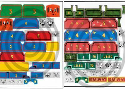 Replacement sticker for Trackmaster trains Thomas James Edward Gordon Molly more
