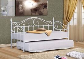 New stunning white daybed with crystals only £139 IN STOCK NOW