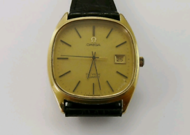 Gents Vintage Omega De Ville Cal 1342 Quartz Watch