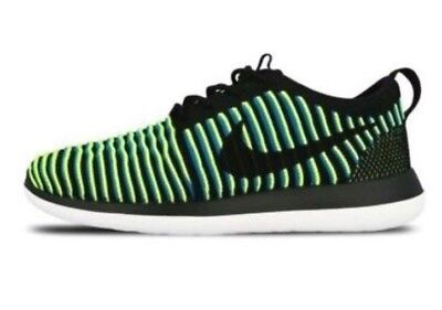 NIKE ROSHE TWO FLYKNIT WOMENS RUNNING TRAINER GYM SNEAKERS SHOES UK SIZE 3.5